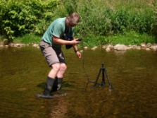 Filmimng of the fish (c) Vlastimil Kostkan